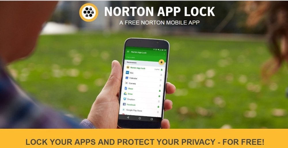 تطبيق Norton App Lock